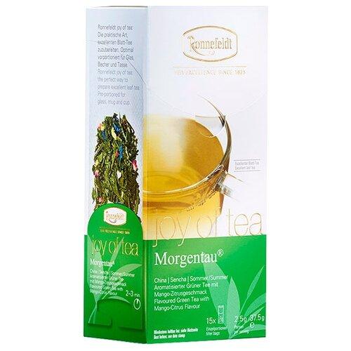 Чай зеленый Ronnefeldt Joy of Tea Morgentau в пакетиках, 15 шт.
