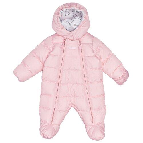 Купить Комбинезон Gulliver Baby 21852GNC6501 размер 68, розовый, Теплые комбинезоны