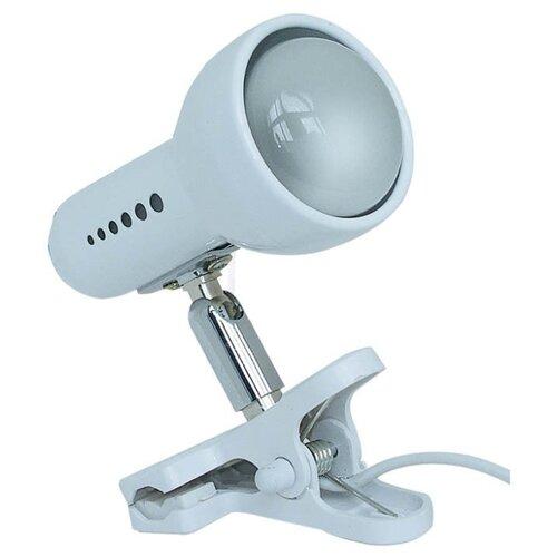 Настольная лампа Акцент 0014-C белая, 60 Вт