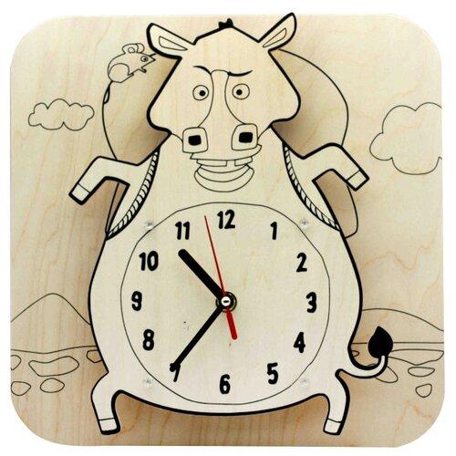 Купить Robotime Набор для росписи Часы-конструктор Ослик-раскраска (AC219P), Роспись предметов