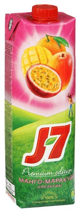 Нектар J7 Апельсин-Манго-Маракуйя, с крышкой