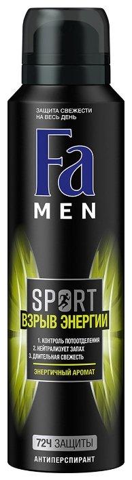 Дезодорант-антиперспирант спрей Fa Men Sport Power Boost