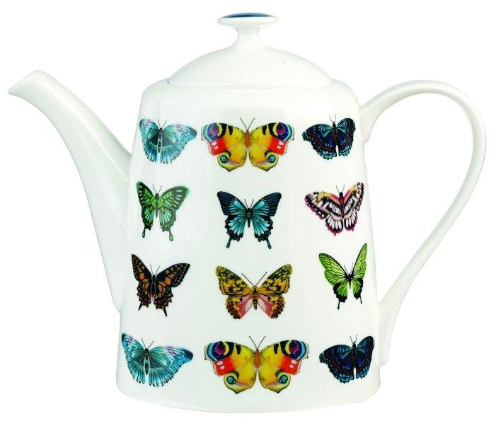 CHURCHILL Заварочный чайник Бабочки от Арлекин 950 мл