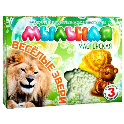 Инновации для детей Мыльная мастерская Весёлые звери (748) клоран гель для детей