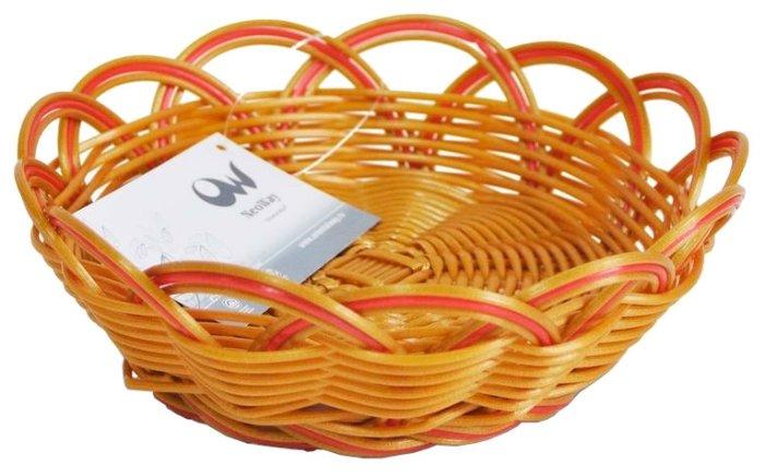 Корзинка для хлеба Oriental Way Мульти MJ-PP016BRRD