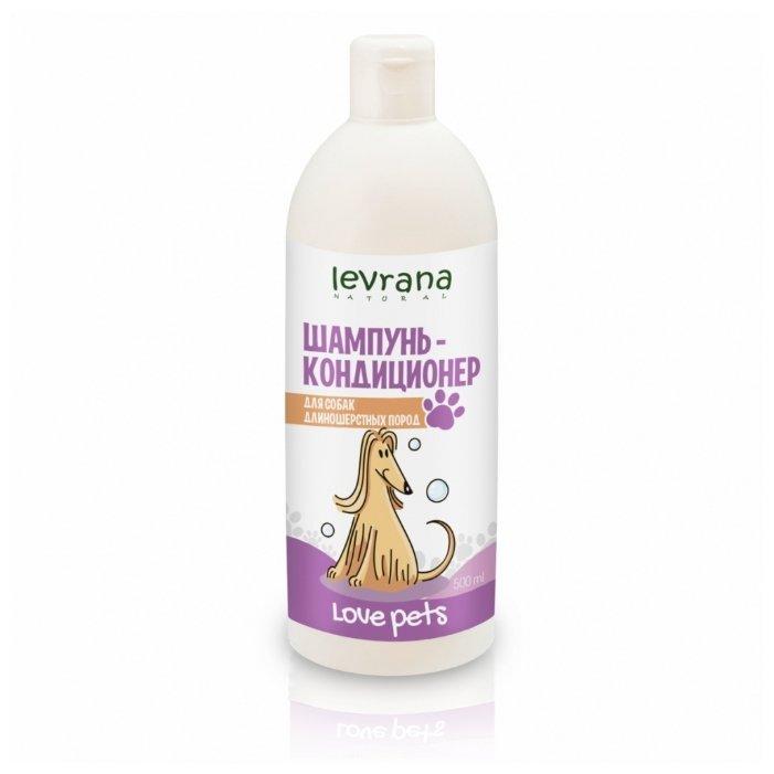 Шампунь Levrana для собак длинношерстных пород 0,5л