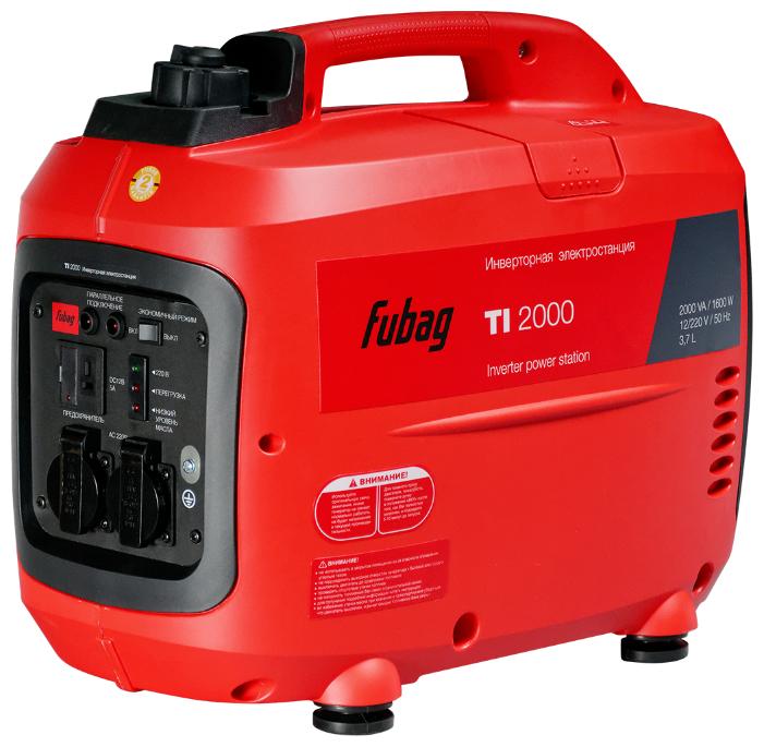 Бензиновая электростанция Fubag TI 2000 (68219)