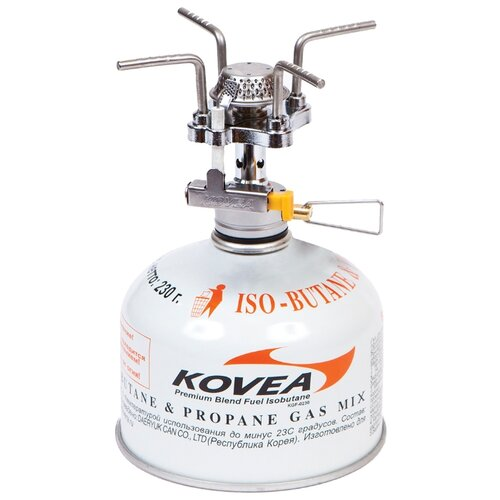 цена на Горелка KOVEA KB-0409 Solo Stove серебристый