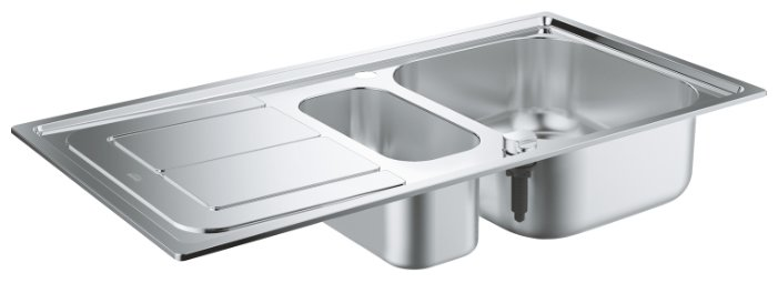 Врезная кухонная мойка Grohe K300 31564SD0 97х50см нержавеющая сталь