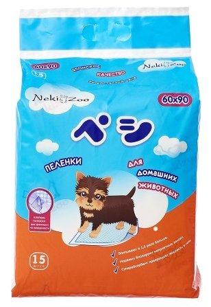 Пеленки для собак впитывающие Maneki NekiZoo 90х60