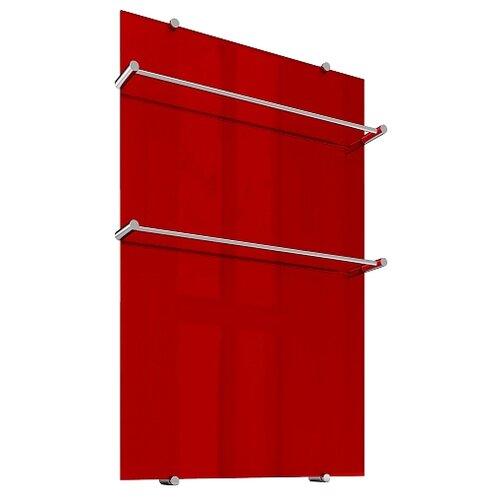 Электрический полотенцесушитель Теплолюкс Flora 90x60 красный