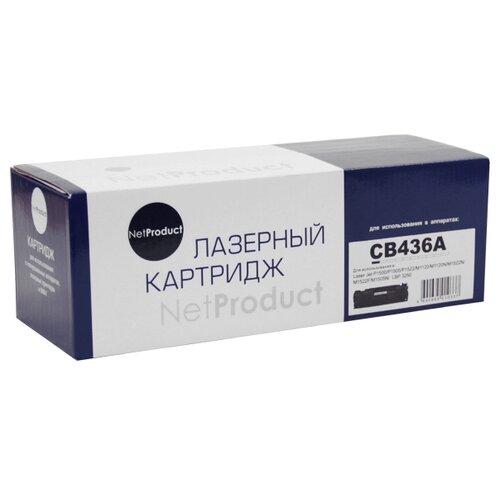 Фото - Картридж Net Product N-CB436A, совместимый картридж net product n 106r01374 совместимый