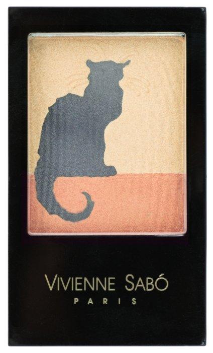 Vivienne Sabo Тени для век тройные Chat Noir