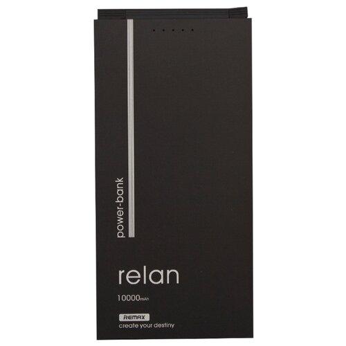 Аккумулятор Remax Relan 10000 mAh RPP-65 черный