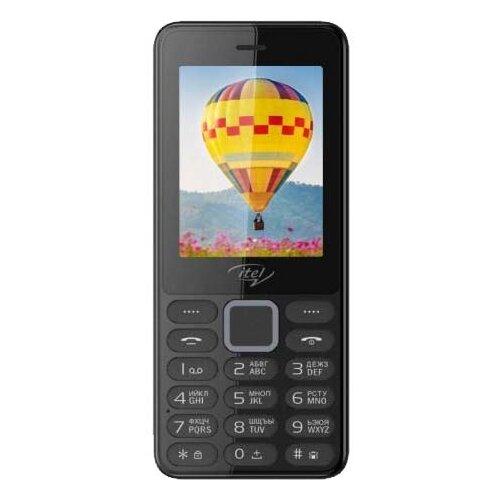 Телефон Itel it5022 черный мобильный телефон itel it5022 красный