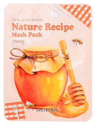 Secret Key Тканевая маска Nature Recipe с экстрактом меда