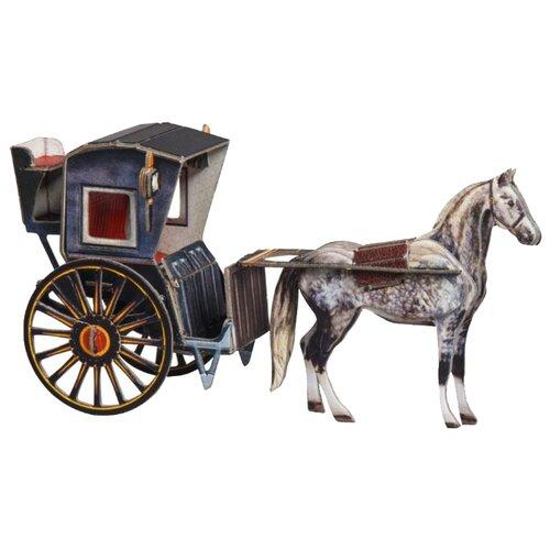 Купить Сборная модель Умная Бумага Кэб (384) 1:43, Сборные модели