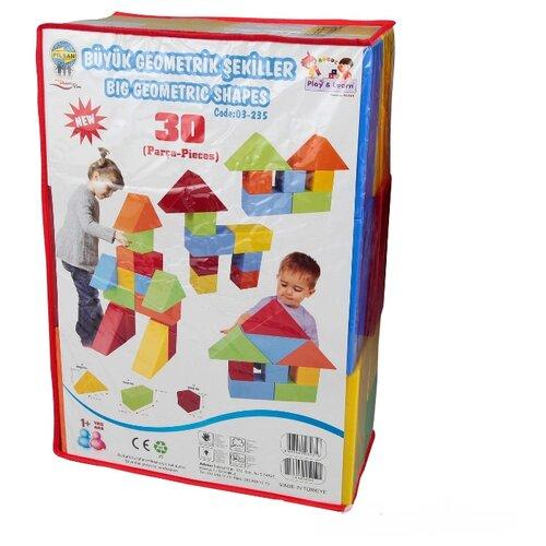 Купить Кубики pilsan Конструктор 03-235, Детские кубики