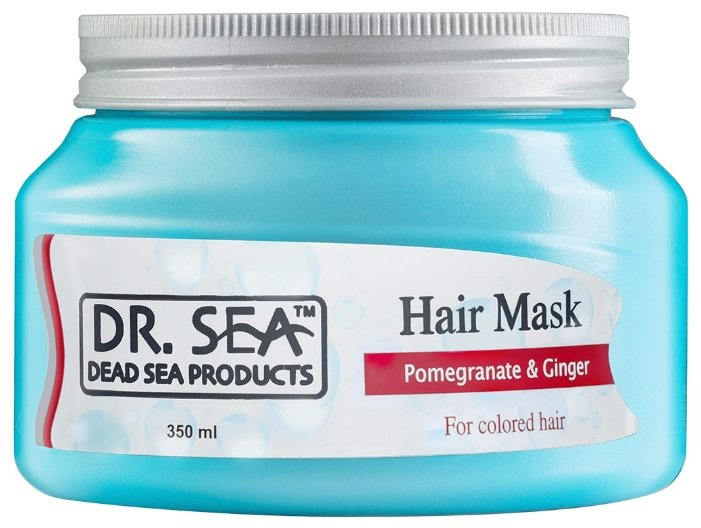Dr. Sea Маска для волос с гранатом и имбирем