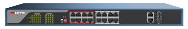 Коммутатор Hikvision DS-3E0318P-E