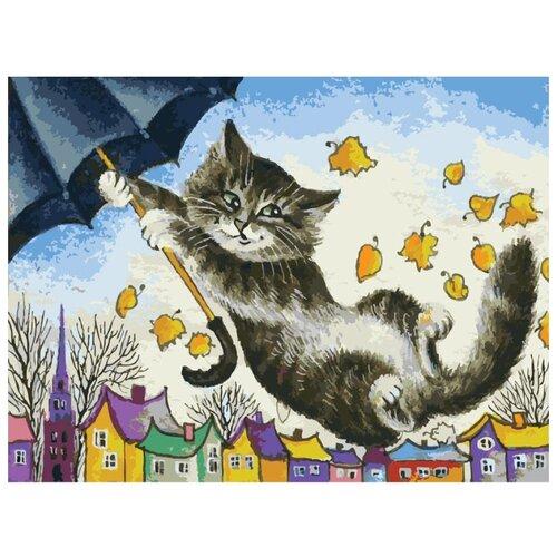 Купить Белоснежка Картина по номерам Зонтик 30х40 см (040-AS), Картины по номерам и контурам