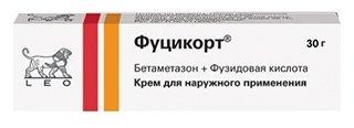 Фуцикорт крем д/нар. прим. туба 30г