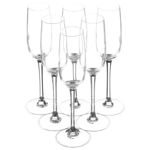 цена на Luminarc Набор фужеров для шампанского Versailles 160 мл 6 шт G1484