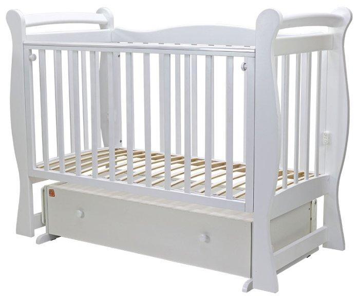 Кроватка Топотушки Валенсия-6 (поперечный маятник)