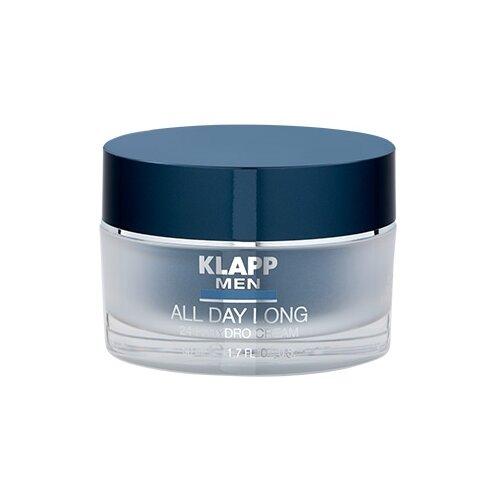 Купить Klapp Увлажняющий крем для лица Men All Day Long 24H 50 мл