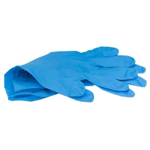 Перчатки Aviora Нитриловые, 50 пар, размер XL, цвет синий
