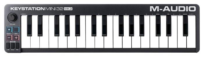 MIDI-клавиатура M-Audio Keystation Mini 32 MK3 — купить по выгодной цене на Яндекс.Маркете
