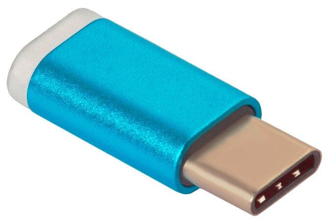 Разъем GCR microUSB - USB Type-C (UC3U2MF) — купить по выгодной цене на Яндекс.Маркете