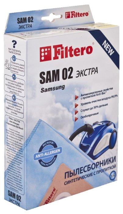 Filtero Мешки-пылесборники SAM 02 Экстра