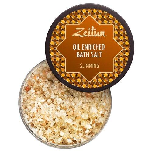 Zeitun Соль для ванн Для похудения с маслом грейпфрута, бергамота и корицы, 250 мл