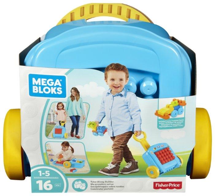 Конструктор Mega Bloks Building Basics FLT37 Чемоданчик с конструктором