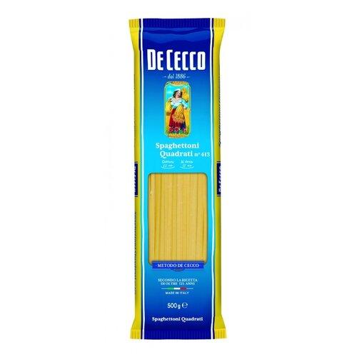 De Cecco Макароны Spaghettoni Quadrati n° 413, 500 г