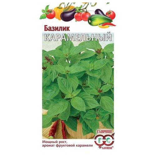 Фото - Семена Гавриш Базилик Карамельный 0,3 г, 10 уп. семена гавриш базилик зеленый