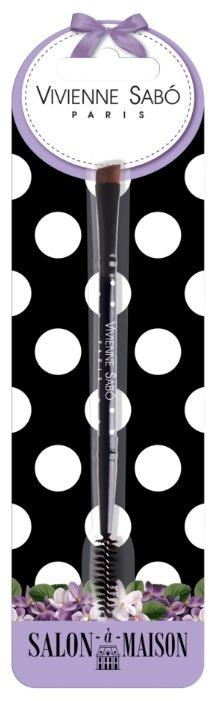 Кисть Vivienne Sabo для бровей Eyebrow Brush Duo