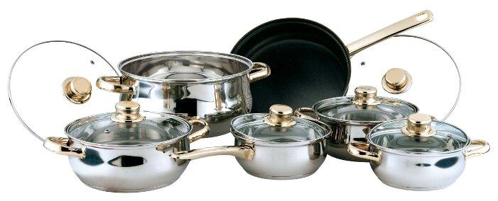 Набор посуды BEKKER BK-225 Classic 12 пр.