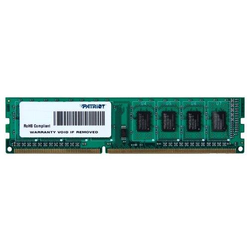 Фото - Оперативная память Patriot Memory SL DDR3 1600 (PC 12800) DIMM 240 pin, 2 GB 1 шт. 1.5 В, CL 11, PSD32G160081 оперативная память corsair xms ddr3 1600 pc 12800 dimm 240 pin 8 гб 1 шт 1 5 в cl 11 cmx8gx3m1a1600c11