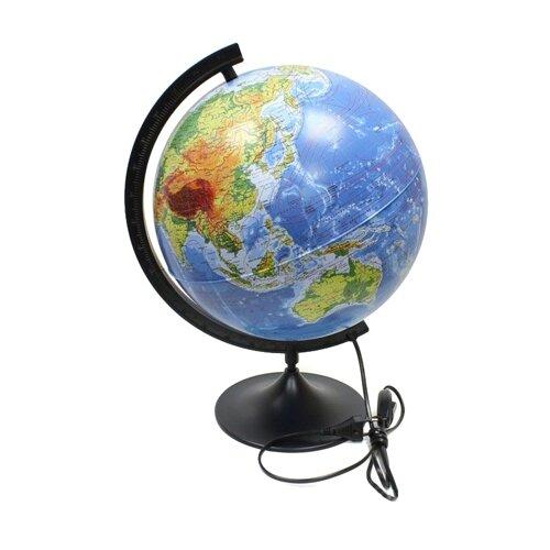 Глобус физический Globen Классик 320 мм (К013200017) черный