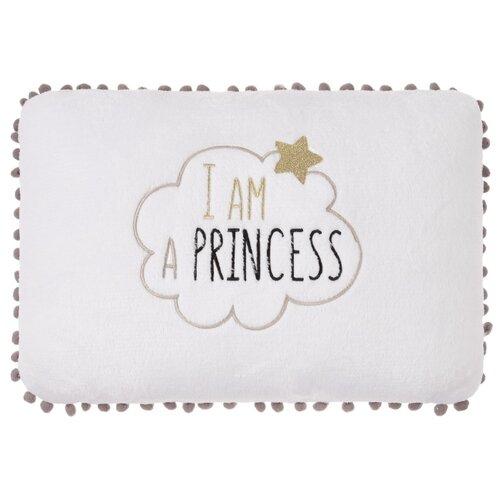 Подушка декоративная Этель Принцесса 2853340, 40 x 30 см белый подушка декоративная villa bianca сердце love 30 26 10 см