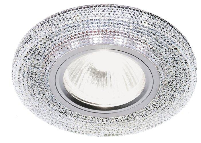 Встраиваемый светильник Ambrella light S290 CH, хром/прозрачный