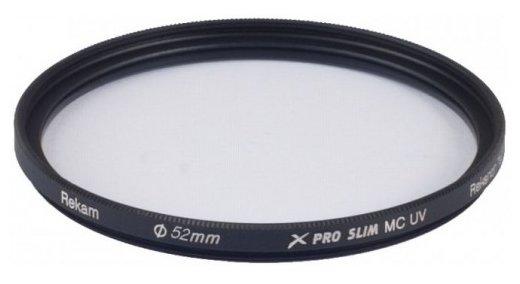 Светофильтр ультрафиолетовый Rekam X Pro Slim UV MC 52 мм