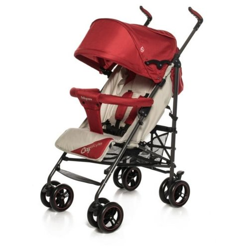 Прогулочная коляска Baby Care City Style (2018) red по цене 3 170