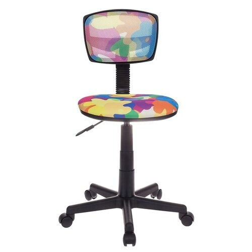 Компьютерное кресло Бюрократ CH-299 детское, обивка: текстиль, цвет: abstract детское компьютерное кресло бюрократ кресло детское ch 204 f