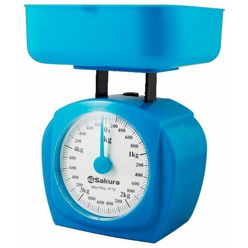 Кухонные весы Sakura SA-6017 синий