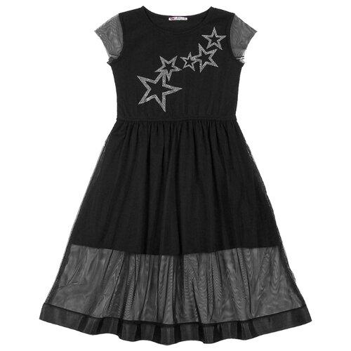 Купить Платье cherubino размер (134)-68, черный, Платья и сарафаны