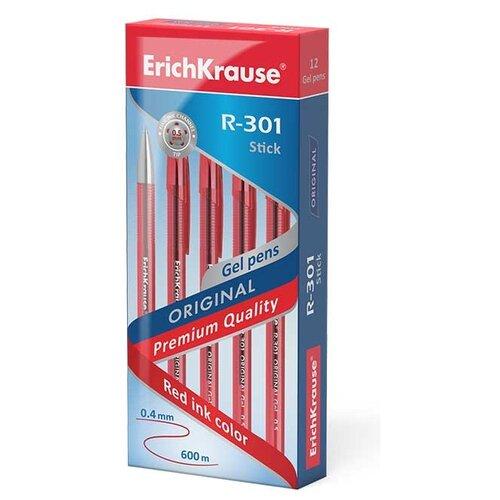 Купить ErichKrause Набор гелевых ручек R-301 Original Gel, 0.5 мм (40318/42721/42722/45156), красный цвет чернил, Ручки