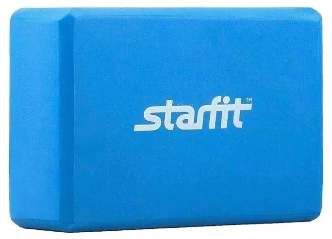 Блок для йоги STARFIT синий (FA-101)